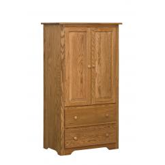 Wooden Shaker Style Armoire