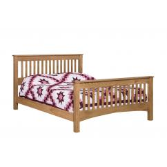 Wooden Picket Style Bed