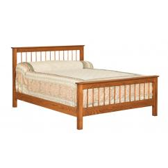 Wooden Shaker Style Bed