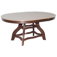 "44""x60"" Oval Dining Table"