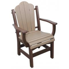 Poly Lumber Arm Chair - Dining Height