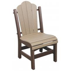 Poly Lumber Side Chair - Dining Height