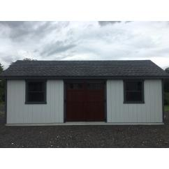 12 x 24 Garden Shed 1 Car Garage