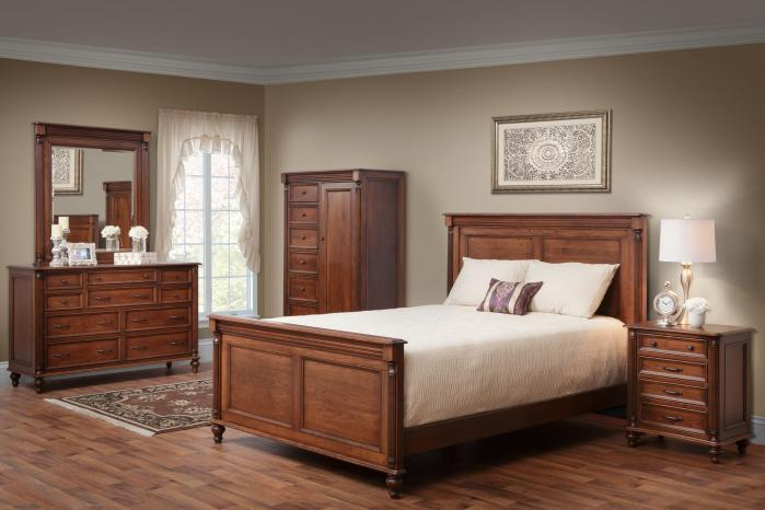 Wooden Bedroom Suit