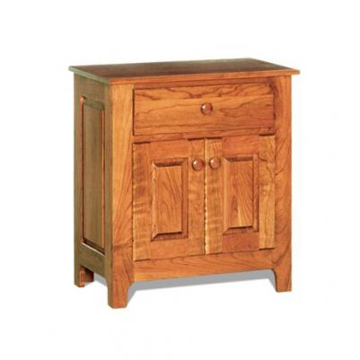 Shaker Door and Drawer Night Stand